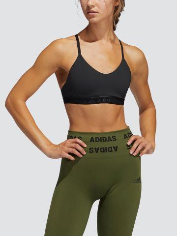 טופ אימון עם גומי לוגו של ADIDAS Performance