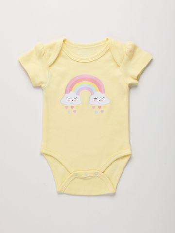 בגד גוף עם הדפס קשת בענן / 0M-2Y של THE CHILDREN'S PLACE