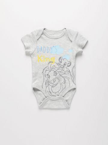 בגד גוף עם הדפס מלך האריות / 0-24M של THE CHILDREN'S PLACE