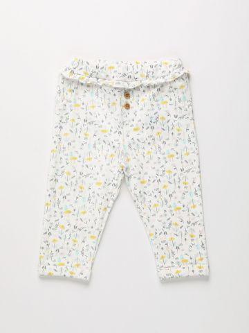 מכנסיים ארוכים בהדפס פרחים / 0M-2Y של THE CHILDREN'S PLACE