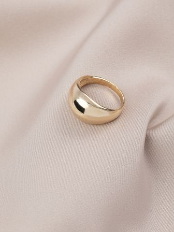 טבעת סופי ציפוי זהב של LUX
