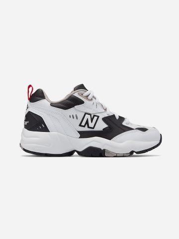 נעלי סניקרס WX608 עם לוגו / נשים של NEW BALANCE
