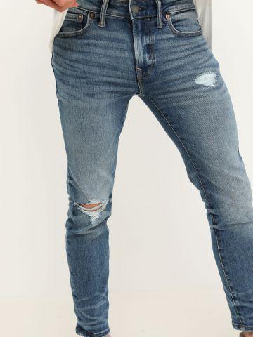 ג'ינס Skinny עם שפשוף בברך / גברים של AMERICAN EAGLE