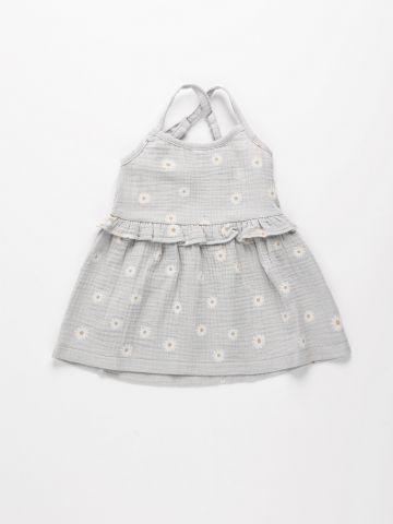 שמלת טטרה בהדפס פרחים / 6M-8Y של TERMINAL X KIDS