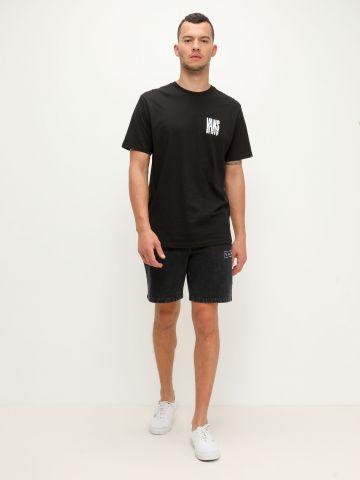 מכנסיים קצרים ווש עם פאץ' של VANS