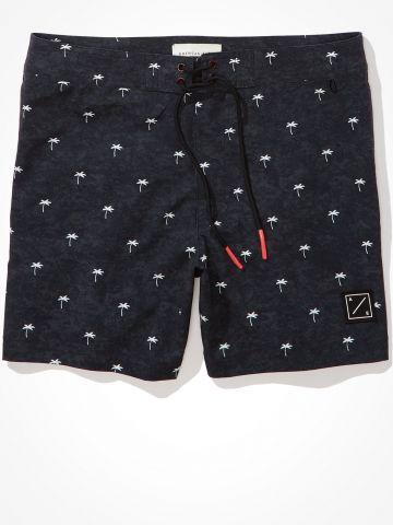 מכנסי בגד עם הדפסי דקלים של AMERICAN EAGLE
