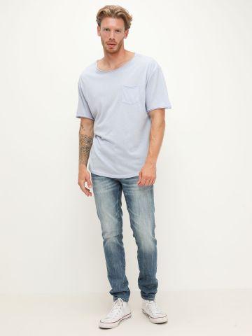 ג'ינס בגזרת Skinny עם שפשופים של AMERICAN EAGLE