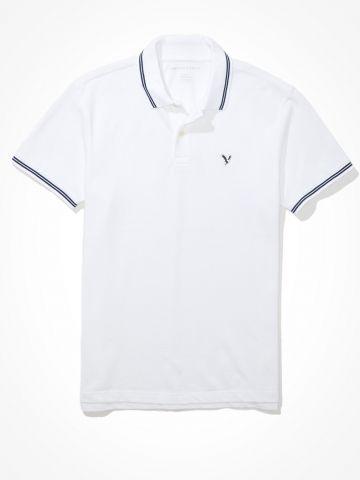 חולצת פולו עם רקמת לוגו / גברים של AMERICAN EAGLE