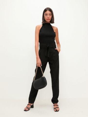 מכנסי פייפרבאג עם חגורת קשירה של TERMINAL X