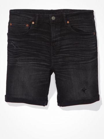 ג'ינס קצר ATHLETIC MOVE FREE DENIM/גברים של AMERICAN EAGLE