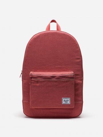 תיק גב קנבס עם פאץ' לוגו Daypack של HERSCHEL