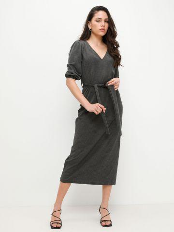 שמלת מקסי בטקסטורה של YANGA