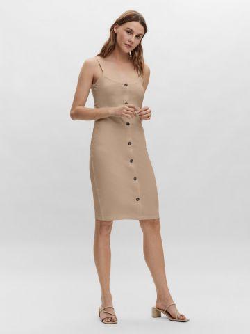 שמלת מיני עם כפתורים של VERO MODA