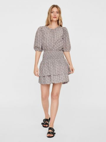 חצאית קומות בהדפס / נשים של VERO MODA
