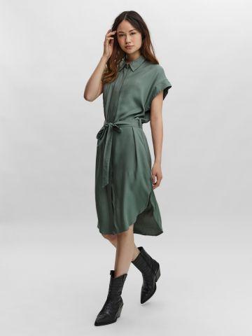 שמלת מידי מכופתרת של VERO MODA