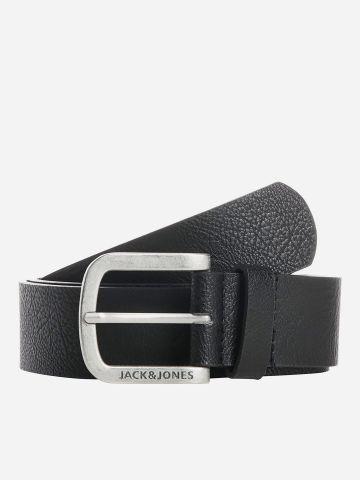 חגורת דמוי עם עם חריטת לוגו / גברים של JACK AND JONES