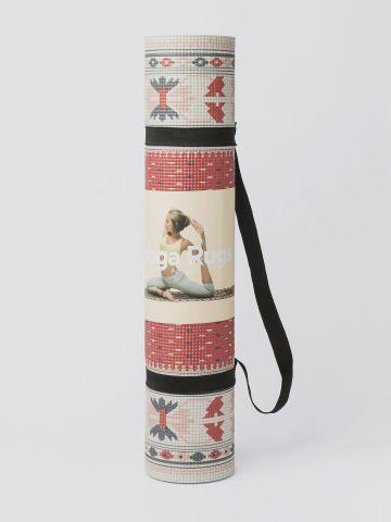 מזרן יוגה בהדפס שטיח פרסי של DOIY