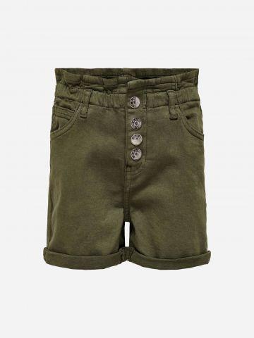 מכנסי פייפרבאג קצרים / בנות של KIDS ONLY
