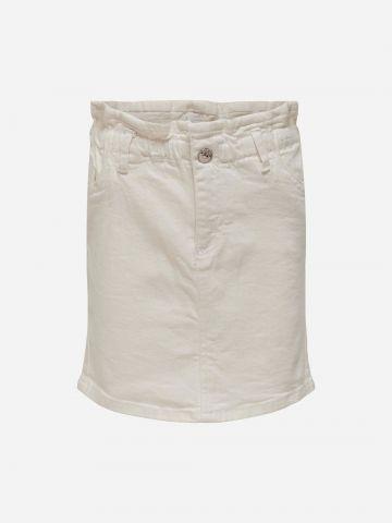 חצאית ג'ינס עם גומי / בנות של KIDS ONLY