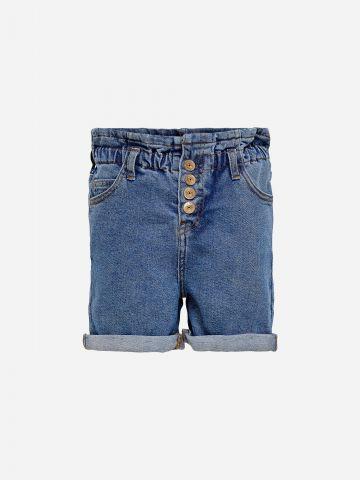 ג'ינס פייפרבאג קצר / בנות של KIDS ONLY