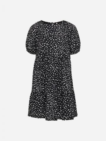 שמלת פפלום בהדפס חברבורות / בנות של KIDS ONLY
