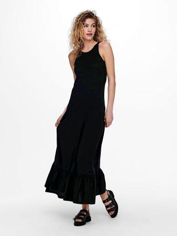 שמלת מקסי עם פפלום / נשים של ONLY