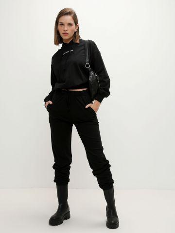 מכנסי טרנינג ארוכים עם כיסים של YANGA