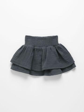 חצאית שתי שכבות מתרחבת / 6M-10Y של TERMINAL X KIDS