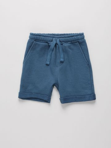 מכנסי טרנינג קצרים בסיומת קיפול / 6M-4Y של THE CHILDREN'S PLACE