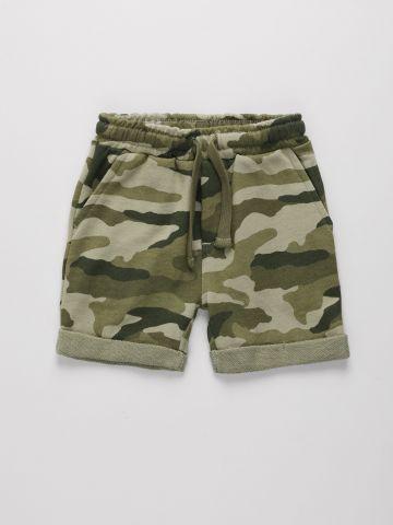 מכנסי טרנינג קצרים בהדפס קמופלאז' / 6M-4Y של THE CHILDREN'S PLACE