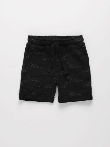 מכנסי טרנינג קצרים בהדפס דיזונאורים / 6M-4Y של THE CHILDREN'S PLACE