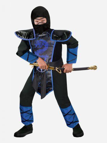 תחפושת נינג'ה לוחם הדרקונים לילדים / תחפושת לפורים של SHOSHI ZOHAR