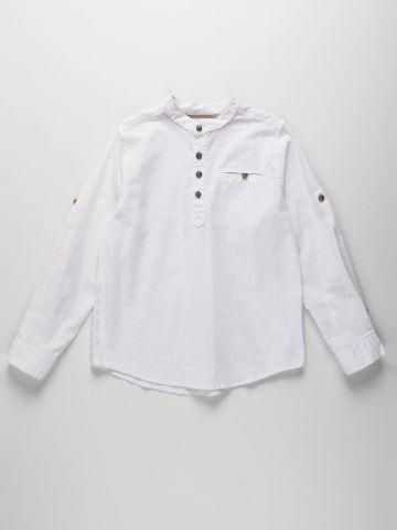 חולצה עם כיס וכפתורים / בנים של AMERICAN EAGLE