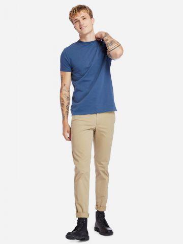 טי שירט עם רקמת לוגו Slim של TIMBERLAND