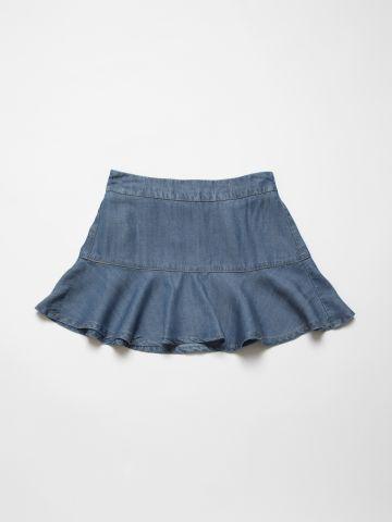 חצאית מתרחבת דמוי ג'ינס / בנות של AMERICAN EAGLE