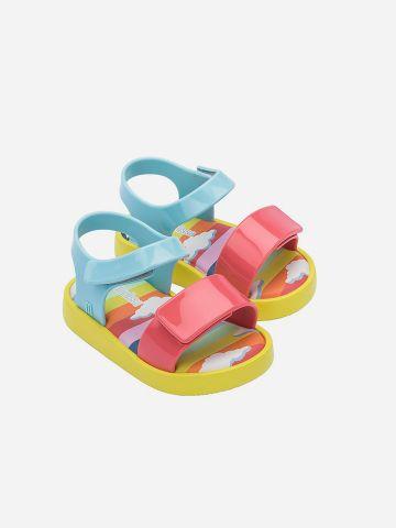סנדלי גומי מולטי קולור Jump Sunny Day BB / בייבי בנות של MELISSA