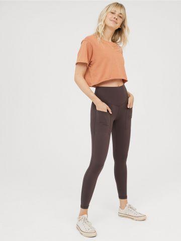 מכנסי טייץ בגזרה גבוהה Offline / נשים של AERIE