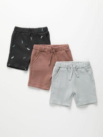 מארז 3 מכנסיים קצרים / 3M-6Y של TERMINAL X KIDS