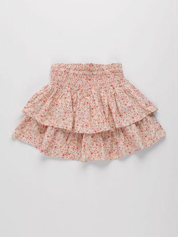 חצאית קומות בהדפס פרחים / בנות של AMERICAN EAGLE