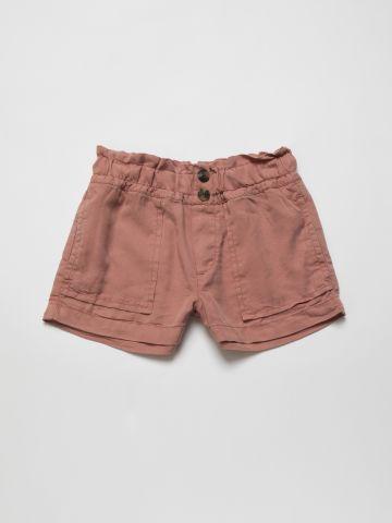מכנסיים קצרים עם כיווצים של AMERICAN EAGLE