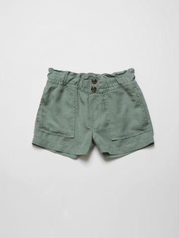 מכנסיים קצרים עם כיווצים במותן / בנות של AMERICAN EAGLE