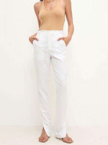 מכנסיים מחוייטים עם שסע של TERMINAL X