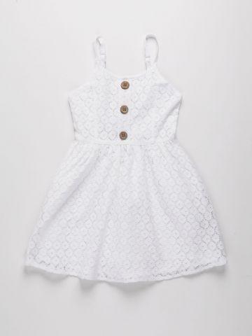 שמלת תחרה עם כפתורים / בנות של AMERICAN EAGLE