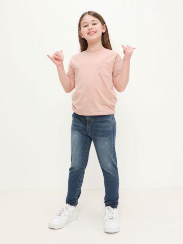ג'ינס ווש בגזרת סקיני של AMERICAN EAGLE