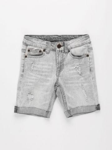 ג'ינס קצר עם קרעים / בנים של AMERICAN EAGLE