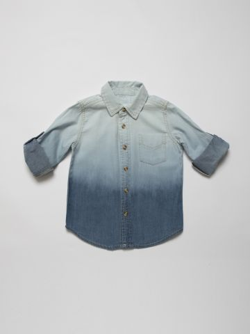 חולצת ג'ינס מכופתרת אומברה / בנים של AMERICAN EAGLE