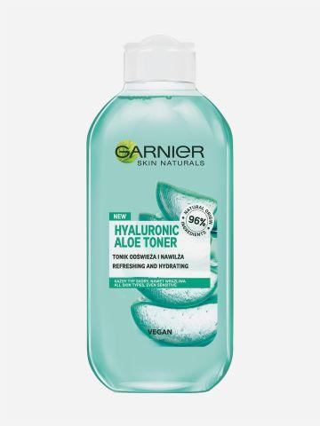 מי פנים אלוורה לכל סוגי העור Garnier Hyluronic Aloe Toner של GARNIER