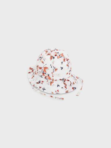 כובע קיץ עם רצועה בהדפס פרפרים / בנות של NAME IT