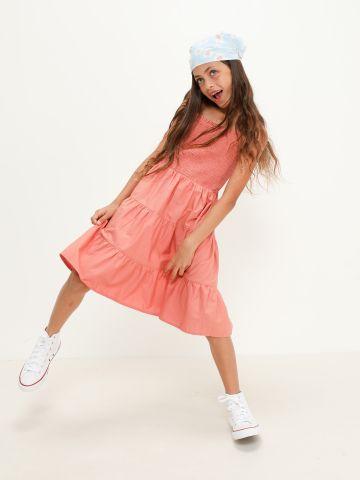 שמלת מיני קומות עם כיווצים של NAME IT