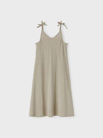 שמלה באורך מידי עם כתפיות קשירה / בנות של NAME IT